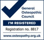General Osteopathic Council Registration Mark - Hannah Williams