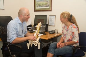 Osteopathy Nottingham Consultation