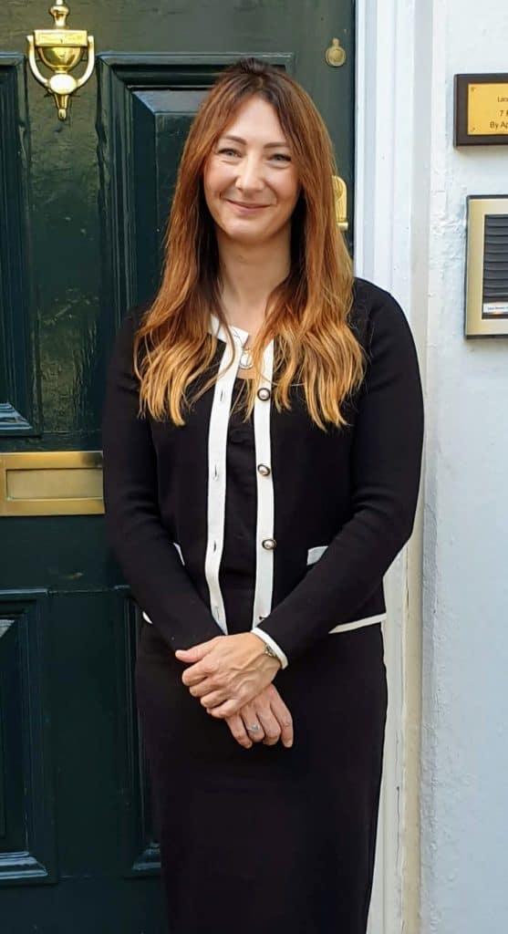 Rebecca Draper Sports Massage Therapist Outside LMC Nottingham
